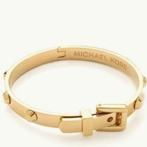 Michael Kors Gold Buckle Stud Bracelet